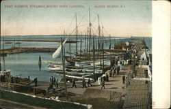 East Harbor, Steamer, Mount Hope Landing