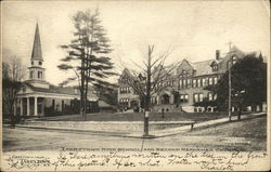 Tarrytown High School and Second Reformed Church