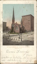St. Paul's Church and Prudential Building
