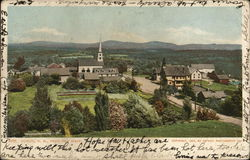 Dublin, N. H. From the West