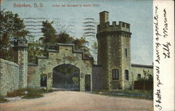 Lodge and Entrance to Castle Point