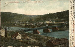 Town and Delaware River