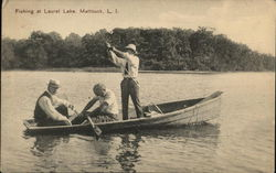 Fishing at Laurel Lake