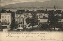 Newburgh, Fishkill and Incline from Downing Park
