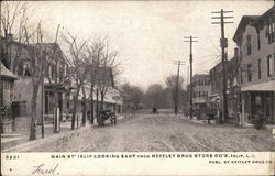 Main Street Looking East from Heffley Drug Store Co.