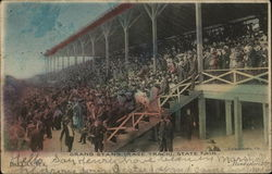 Grand Stand, Race Track, State Fair
