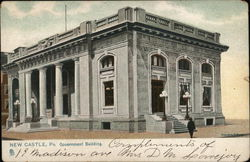 Government Building Postcard