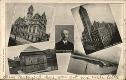 Views of Pittsburg, Postmaster W. H. Davis