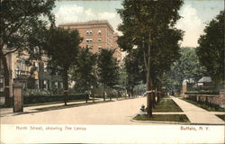 North Street, Showing The Lenox.