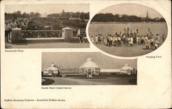 Humboldt Park, Wading Pool and South Park Conservatory