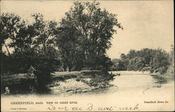 View of Green River Postcard