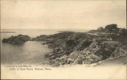 Cliffs at East Point Postcard