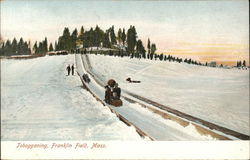Tobogganing, Franklin Field