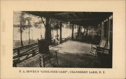 F. A. Hovey's Lone Pine Camp