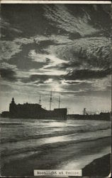 Moonlight at Venice Postcard