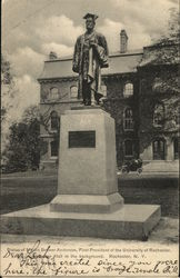 Statue of Martin Brewer Anderson, University of Rochester