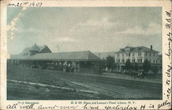 O. & W. Depot and Lennon's Hotel