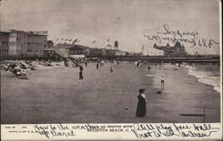 Beach and Brighton Baths, Brighton Beach