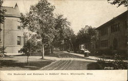 Boulevard and Entrance to Soldiers' Home