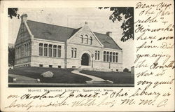 Morrill Memorial Library Postcard