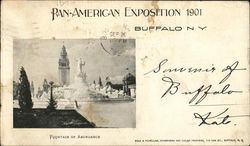 Fountain of Abundance - Pan-American Exposition 1901