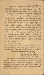 The Bowker Company, Animal Meal