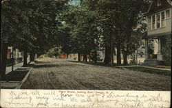 Front Street Looking East Postcard