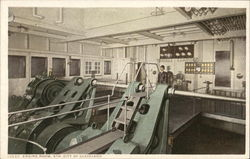 Engine Room, Str. City of Cleveland