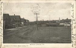 Street Scene, Barton Landing