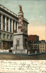 Battle Monument and Court House