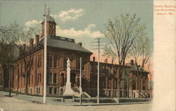 County Building and Monument