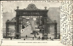 Welcome Arch and 17th Street
