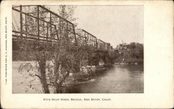 Five Span Steel Bridge