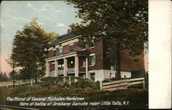 Home of General Nicholas Herkimer Postcard