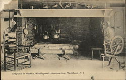 Fireplace in Kitchen, Washington's Headquarters