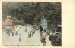 Natives Bathing at Hilo