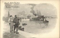 Red Star Line Antwerp-New York, Boston-Philadelphia