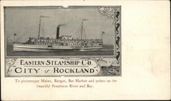 Eastern Steamship Company City of Rockland