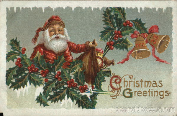 Christmas Greetings Santa Claus