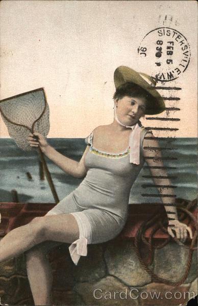 Woman in Swimsuit Women