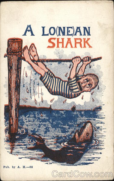 A Lo(ne)an Shark Comic, Funny