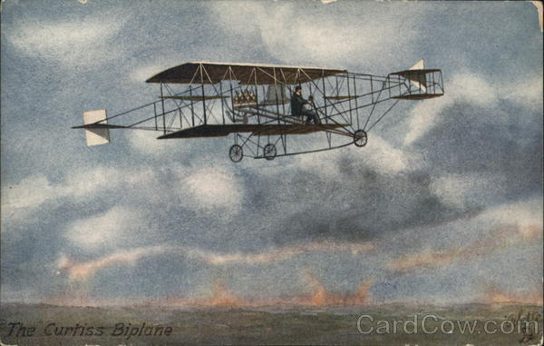 Curtiss's Biplane Aircraft