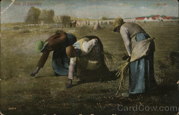 The Gleaners by Jean-François Millet Art