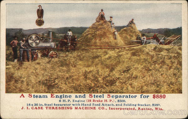 A Steam Engine and Steel Separator for $880 Advertising