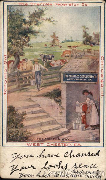 The Sharples Separator Co. Advertising