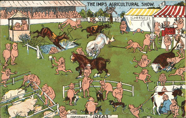 The Imps Agricultural Show Comic, Funny