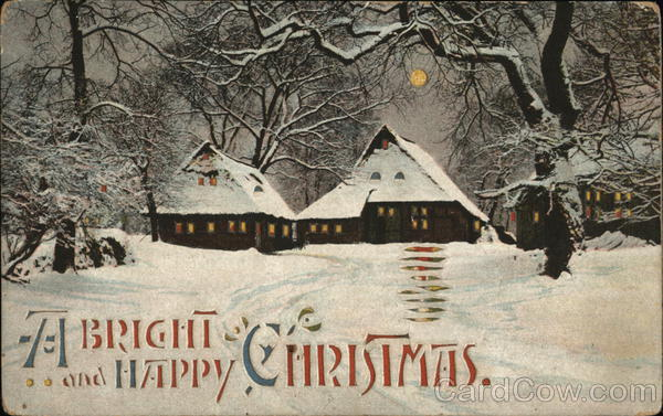 A Bright and Happy Christmas Hold To Light