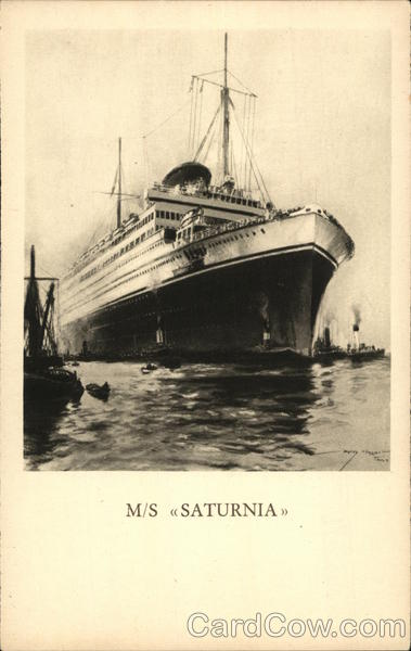 M/S Saturnia Boats, Ships