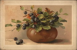 Jug of Blue Berries