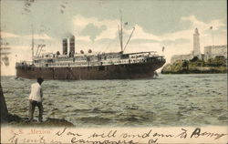 S. S. Mexico. - Picture of ship at sea